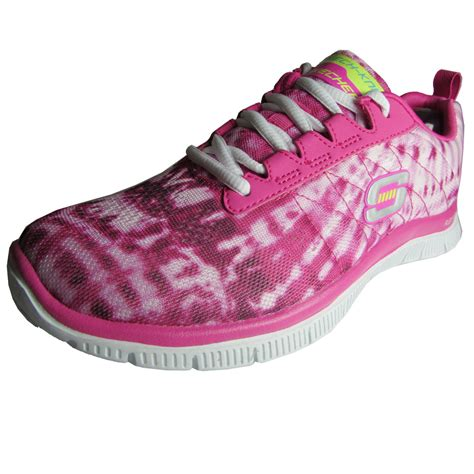 Shoes 34 Pink 010343 Limited skechers womens 11884 flex appeal limited edition shoe