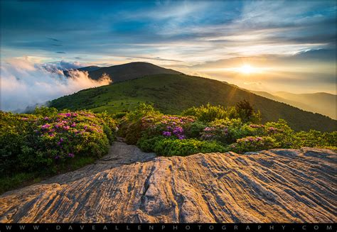 appalachian trail sunset carolina landscape photog
