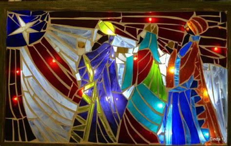fotos reyes magos en puerto rico mosaico de cristal reyes magos con bandera de puerto rico