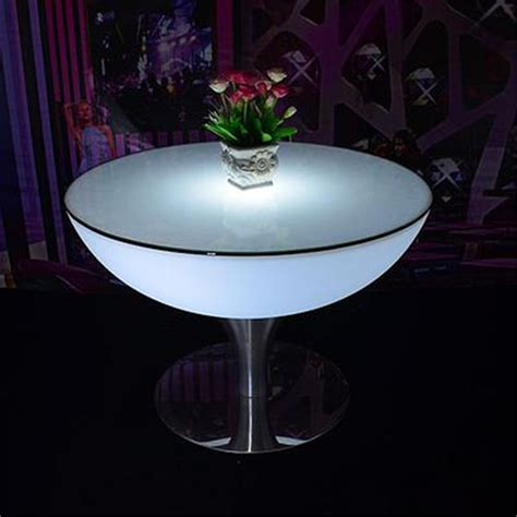 Lighted Table by Led Illuminated Tables Power Lights Co Ltd