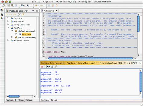 command line pattern eclipse how to use command line arguments in eclipse