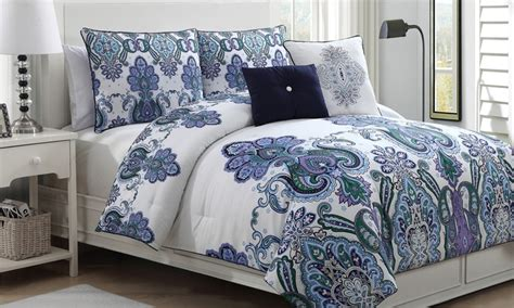 groupon comforter set melisenta 5 piece comforter set groupon goods
