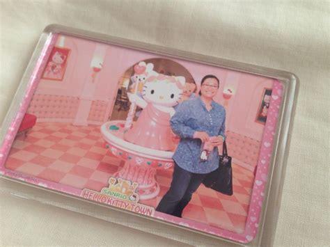Souvenir Handuk Hellokity 2 fridge magnet souvenir from hello town in johor bahru malaysia hello
