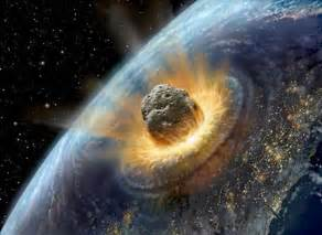 Asteroid hitting earth 2036