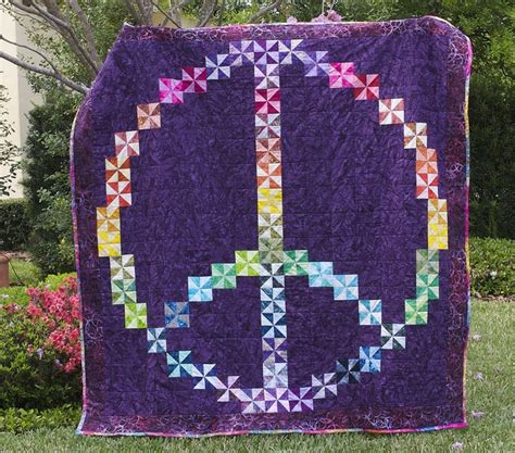 Quilting In Peace by Peace Quilt Peace Goodness