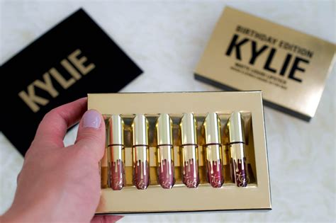 Birthday Edition Lip Mini Kit cosmetics mini matte lip kit giveaway