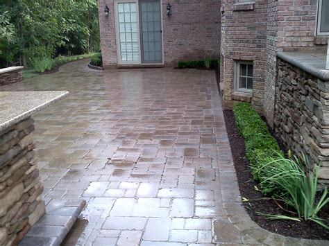 Outdoor Brick Pavers Finished 5 Macomb County Brick Pavers Outdoor Living