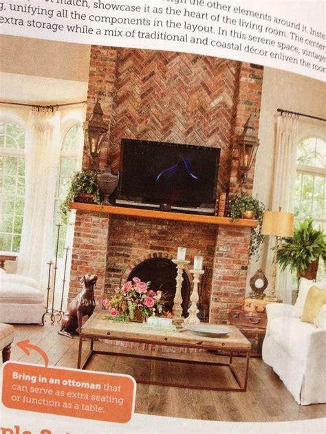 Herringbone Brick Fireplace by Fireplace Brick Herringbone Homestead