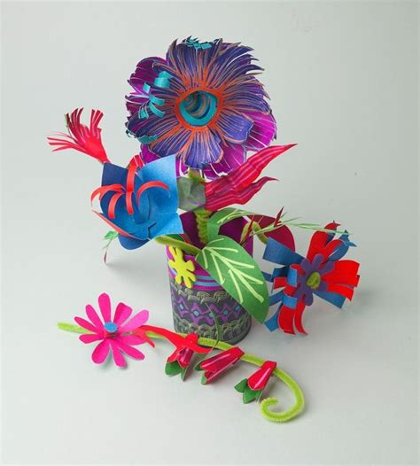 Paper Flower Bouquet Craft - 124 best images about 4h projects on