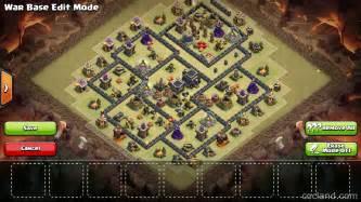 Lifeshredder town hall 9 war base anti 3 star clash of clans