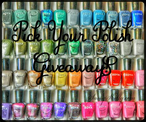 Tumblr Giveaway Picker - closed pick your polish zoya giveaway sassy shelly