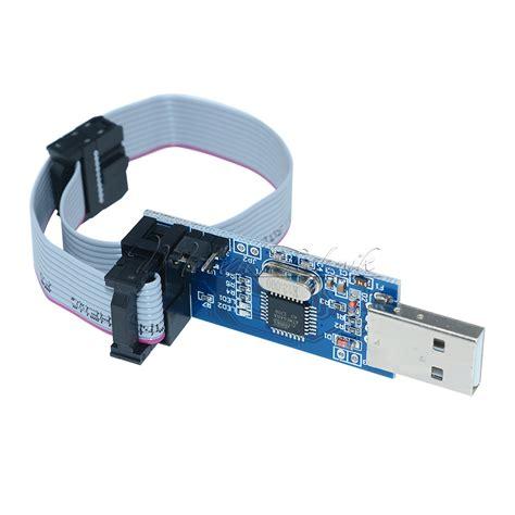Usbasp Usb Asp Programmer Avr Atiny Atmega Avr Studio Arduino usbasp usbisp avr 51 programmer adapter mit 10 pin kabel