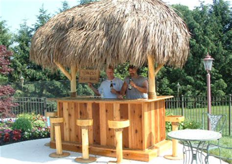 Build Your Own Tiki Bar How To Build Your Own Tiki Bar Hut And Furniture Series