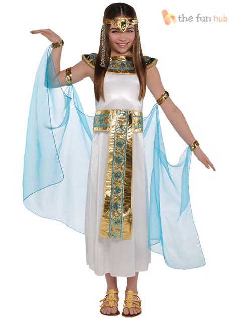 themes for children s clothing girls cleopatra costume greek goddess egyptian queen fancy
