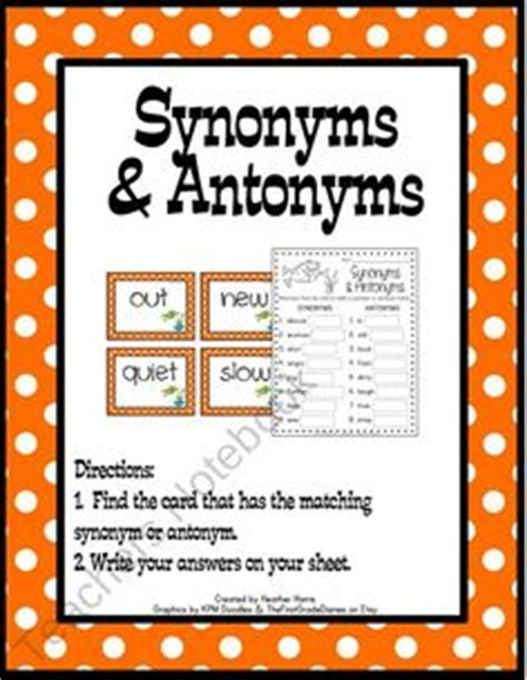 synonym words with f study page 19 best synonym activities images synonym activities