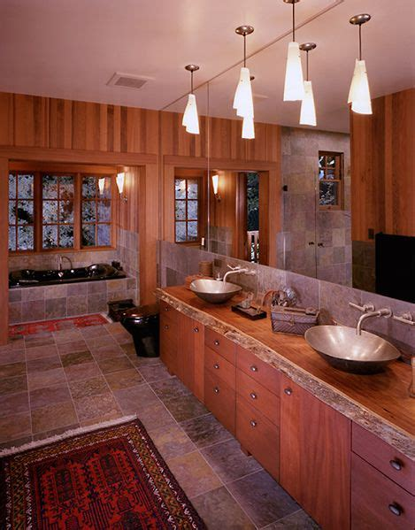 rustic master bathroom ideas  pinterest