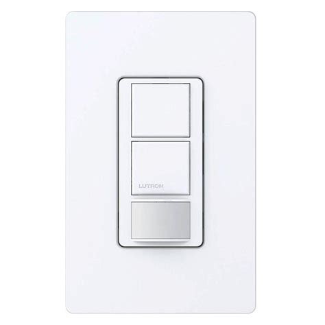 lutron automatic light switch lutron maestro dual voltage motion sensor switch 6 amp