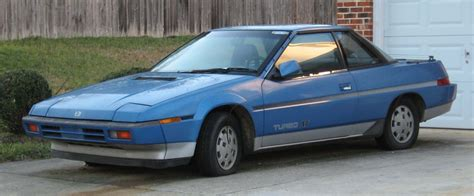 subaru xt 1989 greatest sports cars of the 70s and 80s subaru xt