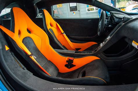 orange mclaren interior mexico blue mclaren 675lt with mso roof snorkel gtspirit