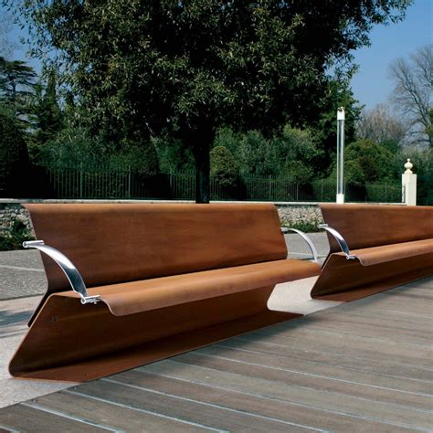 corten bench 136 best images about corten steel landscaping on