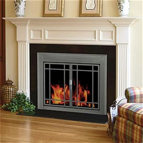 glass doors for a gas fireplace fireplaces