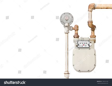 gas meter in bedroom home gas meter domestic natural gas meter and rusty pipes