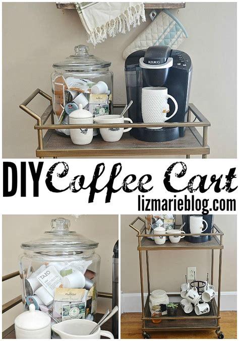diy coffee shop design diy coffee cart