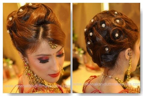 indian bridal hairstyles  long hair