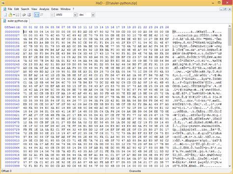 binary  text files