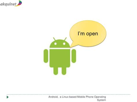linux mobile os android a linux based mobile operating system