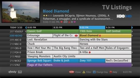 my xfinity tv guide how to fix time zone comcast technology topic page 18 avs forum home