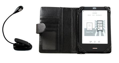 Kobo Gift Card Problems - kobo touch ereader executive pro black wallet case clip on led reading light