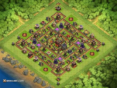 defensive war base for th10 th10 defense base coc yqn3xjvq9 jpg 1024 215 776 clash of