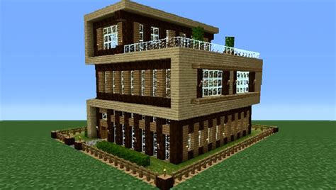 minecraft modern house tutorial minecraft 360 modern house tutorial house number 4