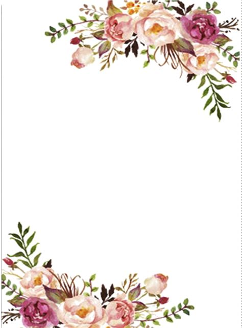 Kl Of Frame Colour Wrapping Bunga 231 ikolatadenizi arka plan background wallpaper template and planners