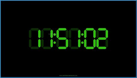 digital clock themes software download linux digital clock screensaver download free