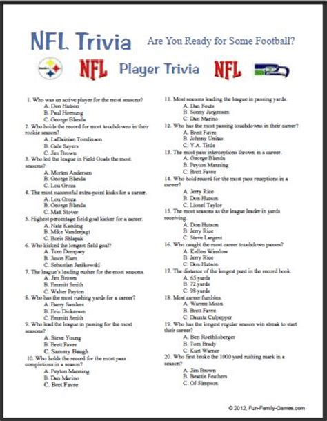 fun sports trivia quizzes trivia questions and answers