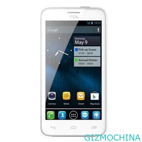 tcl p600 will be the first phone with mtk mt6589 quad core