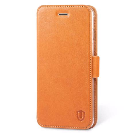 Original Leather Iphone 7plus shieldon iphone 7 plus flip genuine leather