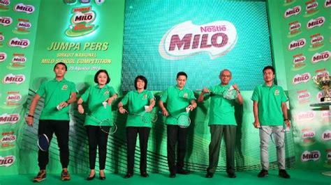 Raket Standar Pbsi milo school competition 2016 terapkan standar sirkuit