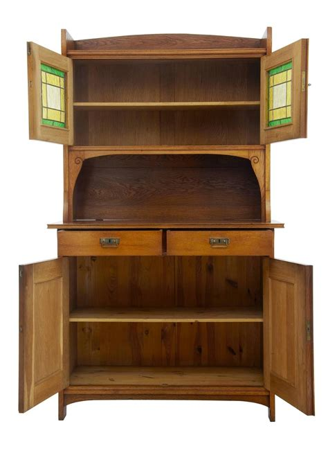 arts and crafts cabinet late 19th century oak arts and crafts cabinet cupboard for