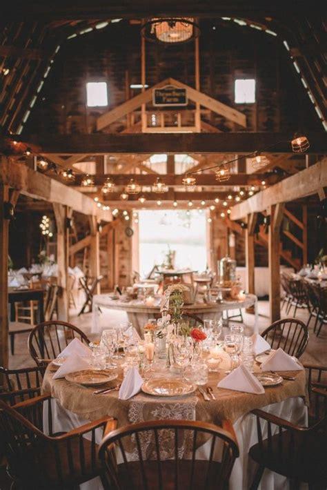 barn wedding reception table decoration ideas deer