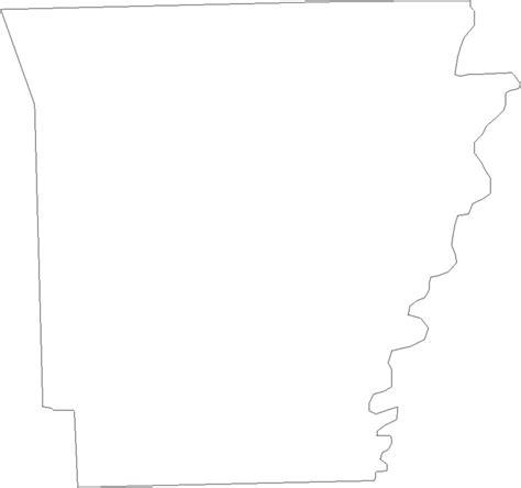 printable state shapes arkansas state map outline bnhspine com