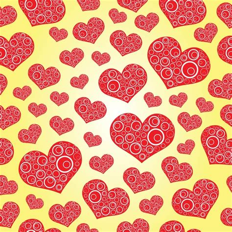 heart pattern download mp3 hearts with circles vector pattern vector free download