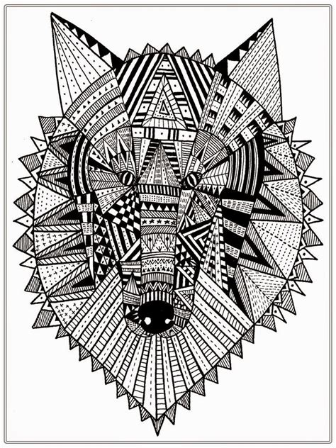 hard wolf coloring pages realistic wolf adult coloring pages realistic coloring pages