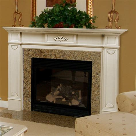 Wood Mantels For Fireplace by 48 Quot 56 Quot Monticello Fireplace Mantel Surround