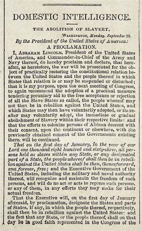 emancipation proclamation and gettysburg address 1000 ideas about the emancipation proclamation on