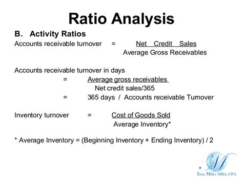 Credit Turnover Ratio Formula Using Financial Forecasts To Advise Business Method Of Forecasting