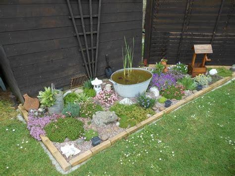 small garden rockery