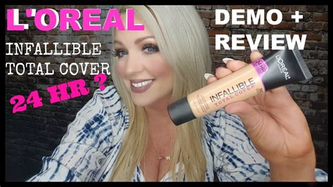 review demo l oreal evercurl l oreal infallible total cover foundation 12 99 demo review
